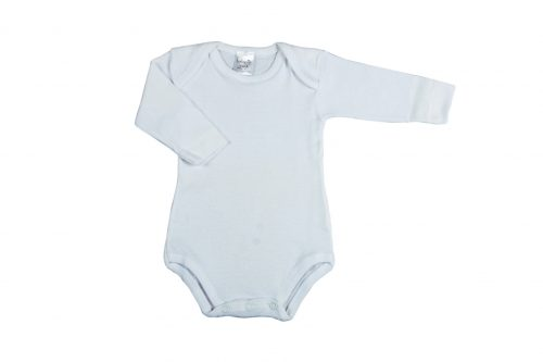 2 Body m/l scollo americano in cotone costina